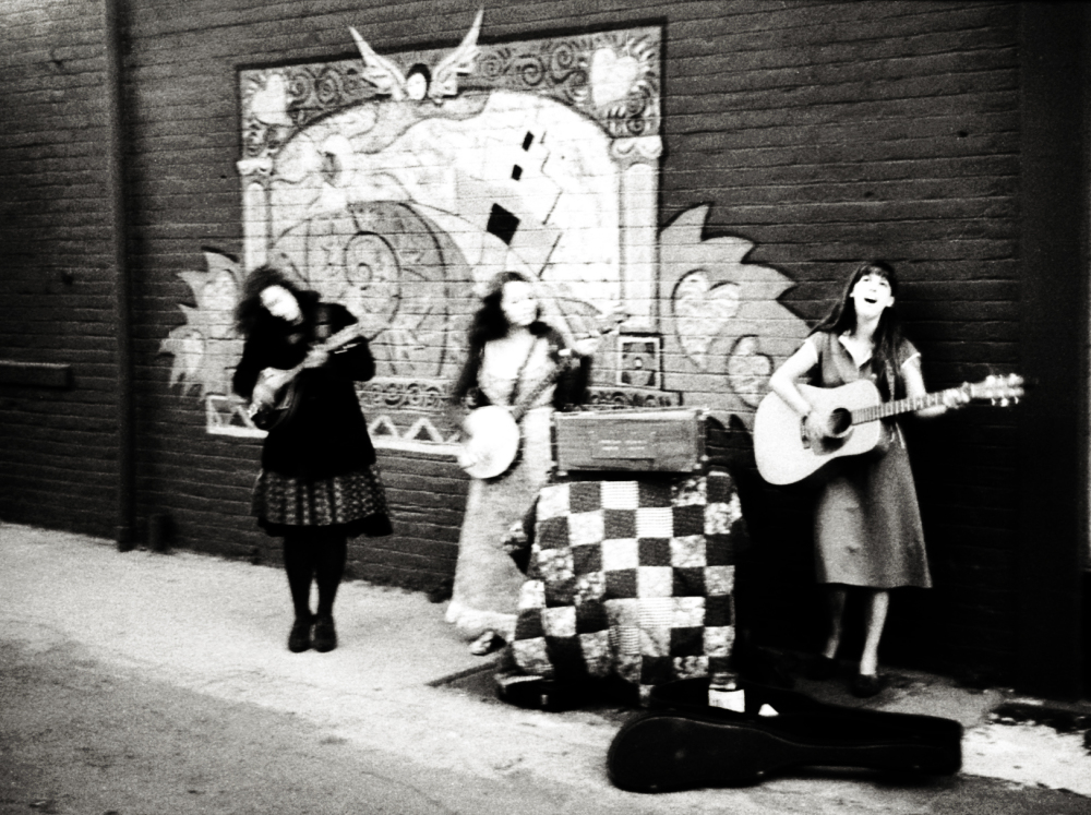 Street photography, Los Angeles Mon amour, Leica, black and white, musicians,