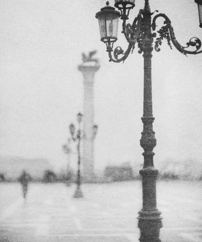Italy, large format photography, sepia, analog photography, Italian landscapes, Italian cityscapes, Domenico Foschi, Venezia, venice, Saint Mark's Square,